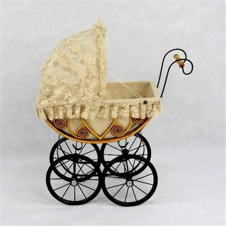 Regal Doll Carriages P491 Eleanor Wicker Heirloom Doll Carriage Buggy Stroller (Doll Carriage Stroller)