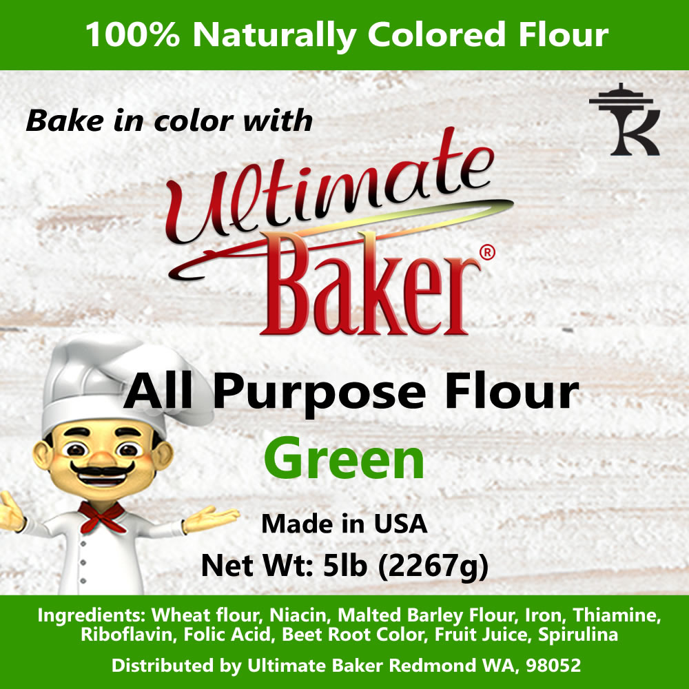 Ultimate Baker All Purpose Flour Green (1x5lb)