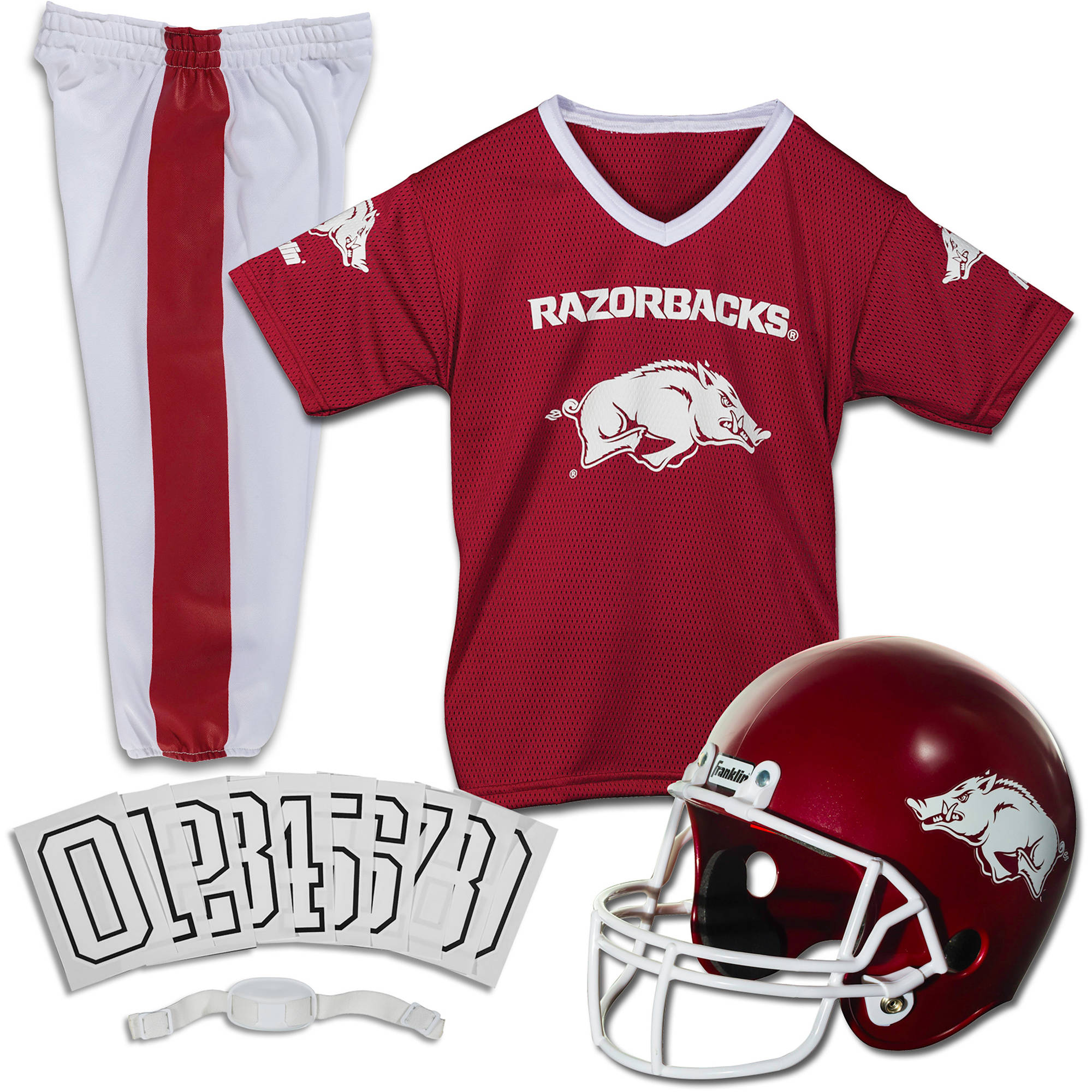 Size 3T Victory Red NCAA Arkansas Razorbacks Toddler Boys Sleepwear All Over Print Pants