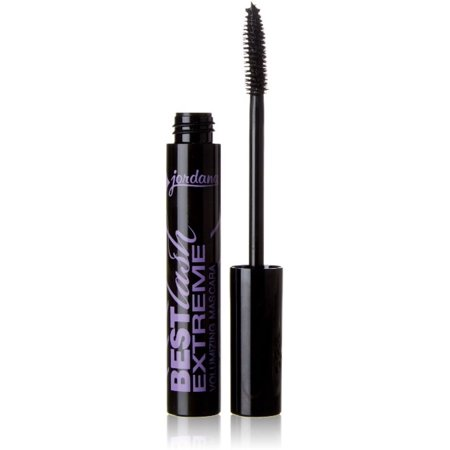 Jordana Best Lash Extreme Volumizing Mascara, Black [301] 0.30 oz (The Best Lashes)