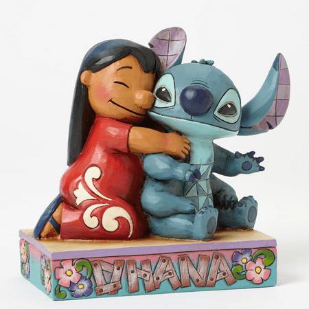 Jim Shore Disney 4043643 Lilo and Stitch Obana