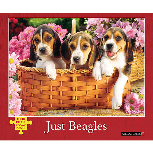 Just Beagles 1000 Piece Puzzle