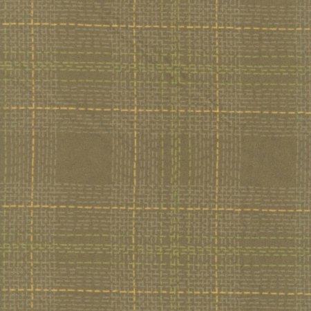 Dear Stella Designs Fabric Winter Cabin Rae Ritchie Flannel Dash Plaid (Cabin Flannel)