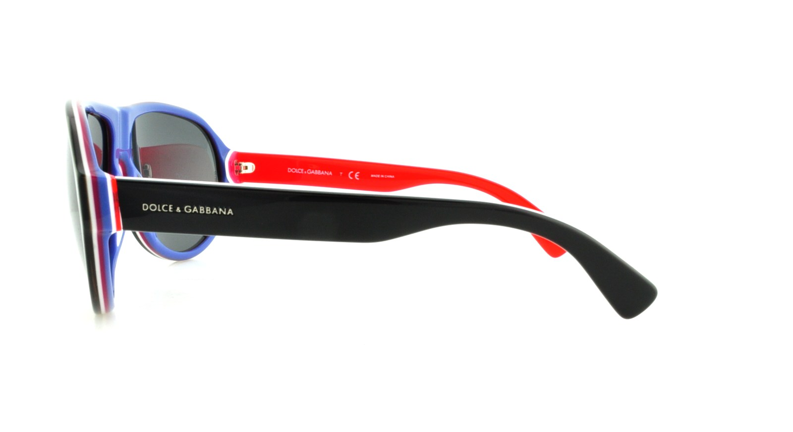 581308e17502 Dolce   Gabbana - Men s DG4204-276487-64 Black Oval Sunglasses - Walmart.com