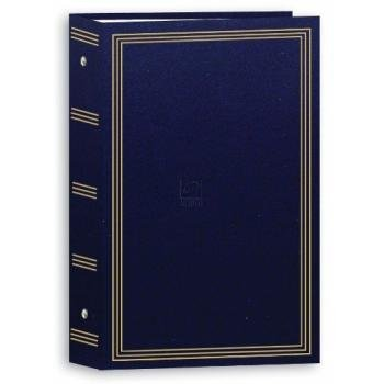 Pioneer STC-504 3-Ring 4x6 Photo Album (Navy Blue)