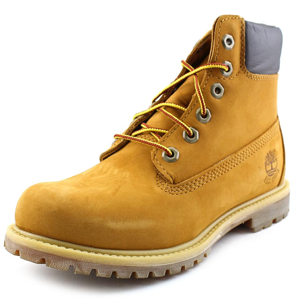 Timberland Premium 6in Prem Fleece Women Round Toe Leather Boot by Timberland