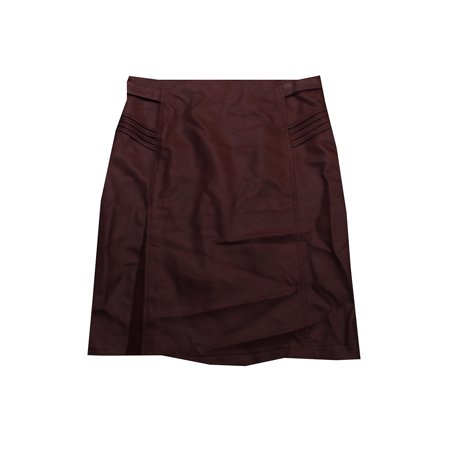 big sale 50% price price remains stable Xoxo Juniors Burgundy Faux-Leather Pencil Skirt XL