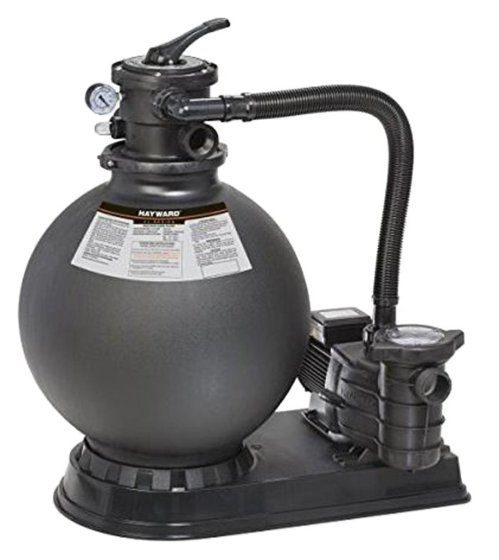 """Hayward VL210T1285S Above Ground Swimming Pool 21"""" 1.5 HP Sand Filter System"""