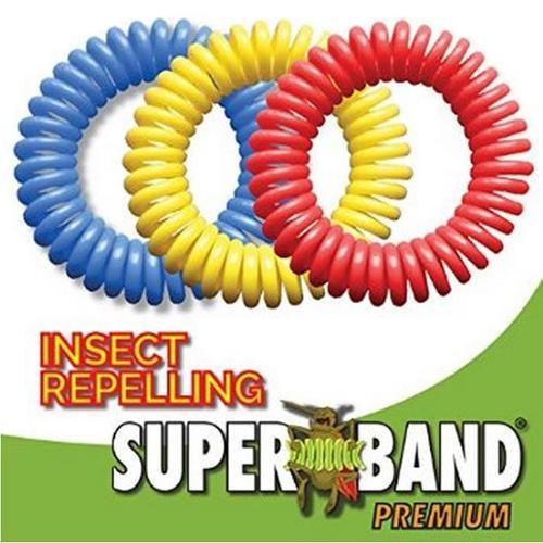 Evergreen Superband Premium Mosquito Repelling Wristband - 50 Pack