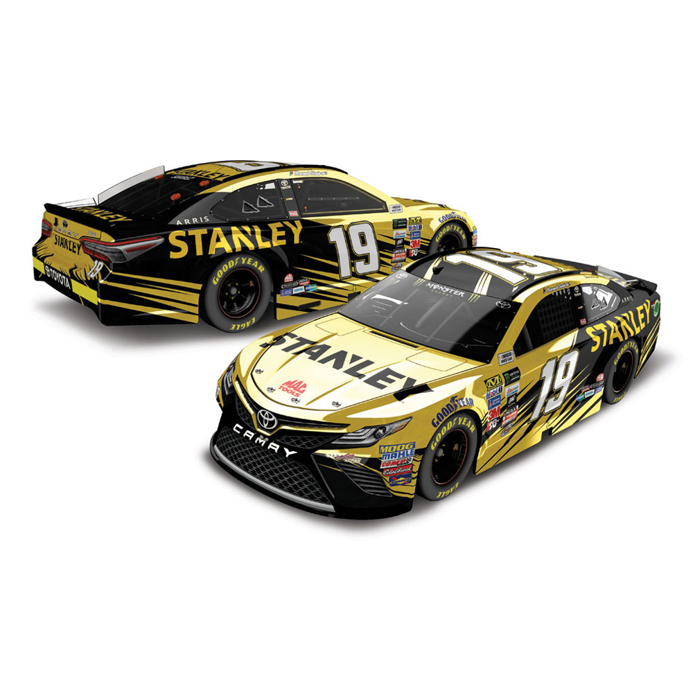 Action Racing Daniel Suarez 2017 #19 Stanley 1:24 Monster Energy Nascar Cup Series Color... by Lionel LLC