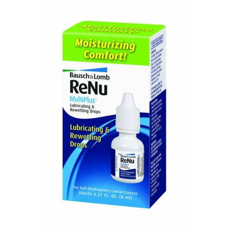Bausch & Lomb ReNu MultiPlus Lubricating and Rewetting Drops 0.27oz