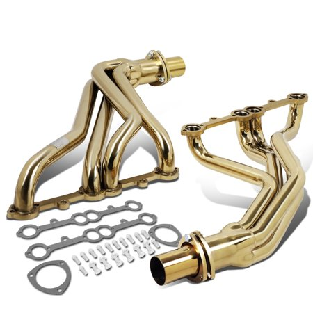 002 Dampers - J2 For 1984 to 1991 GM Chevy GMC 5.0L / 5.7L SBC Small Block Engines Long Tube Exhaust Header Manifold 85 86 87 88 89 90
