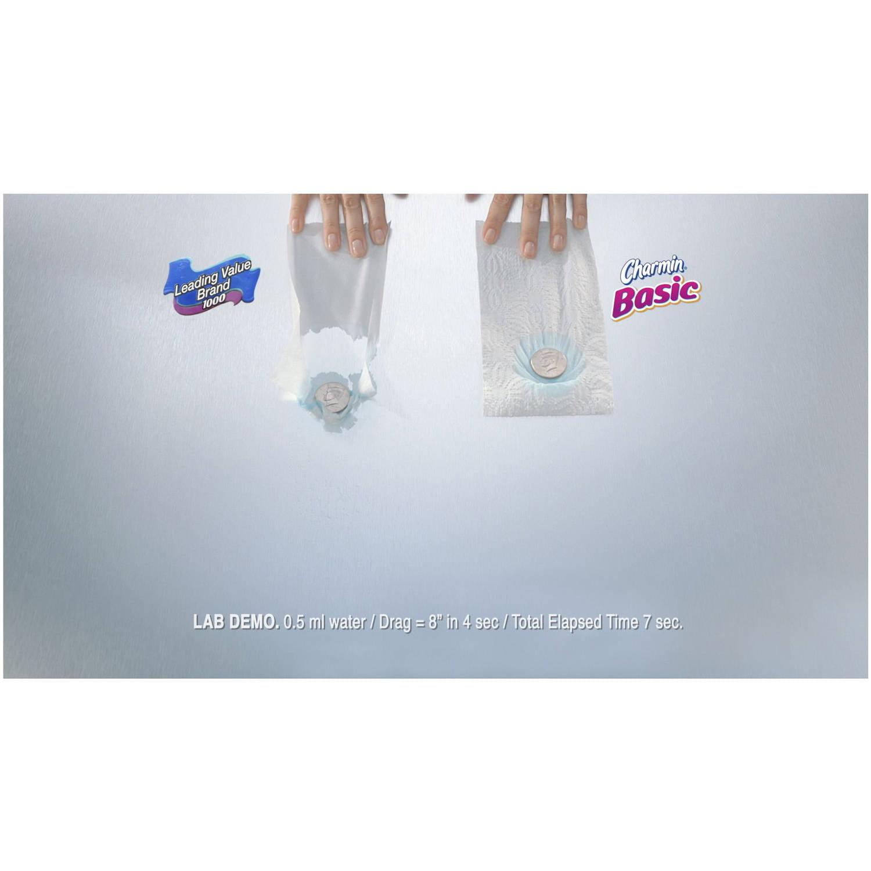 Charmin Basic Toilet Paper, 40 Double Rolls - Walmart.com