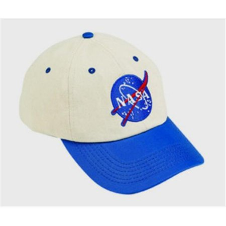 Aeromax FS-CAP Jr. Flight Blue and White Cap - Adj Youth Size
