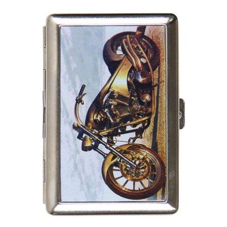 Gold Chopper Cigarette Case - Copper Cigarette Case