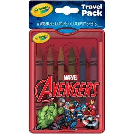 Crayola Avengers Travel Activity Pack