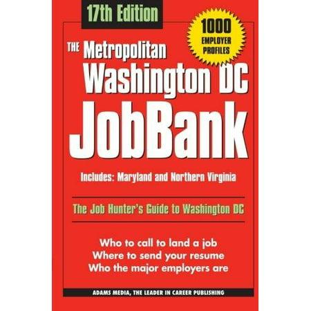 The Metropolitan Washington Dc Jobbank
