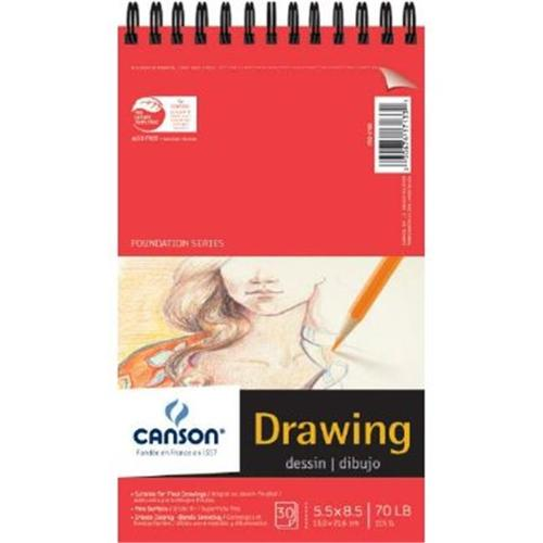 """Canson - Foundation Series Drawing Pad - 5.5"""" x 8.5"""""""