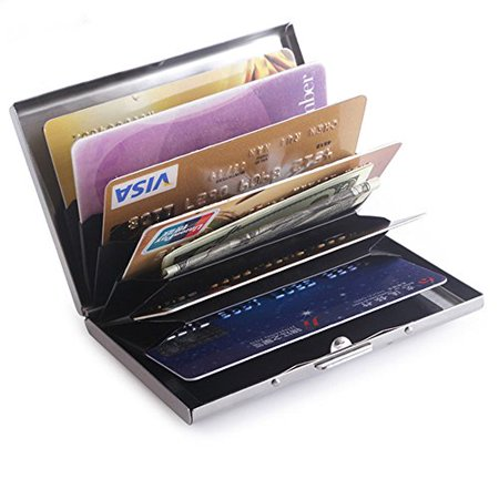 Credit card holder stainless steel mirror case sturdy steel metal credit card holder stainless steel mirror case sturdy steel metal slim wallet for drivers license colourmoves