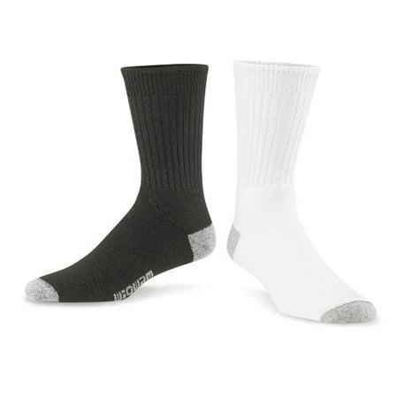 Wigwam Diabetic Sport Crew Sock Black,Large