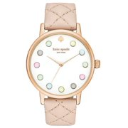 Kate Spade New York Women's Metro Leather Watch KSW1069