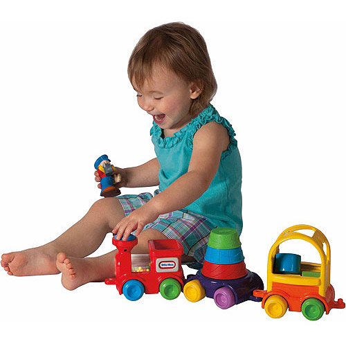 Little Tikes DiscoverSounds Sort and Stack Train by MGA Entertainment