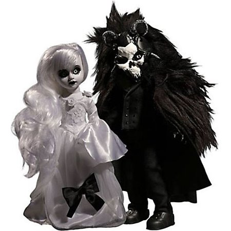 Living Dead Dolls Scary Tales Beauty & The Beast Doll - Scary Clown Dolls