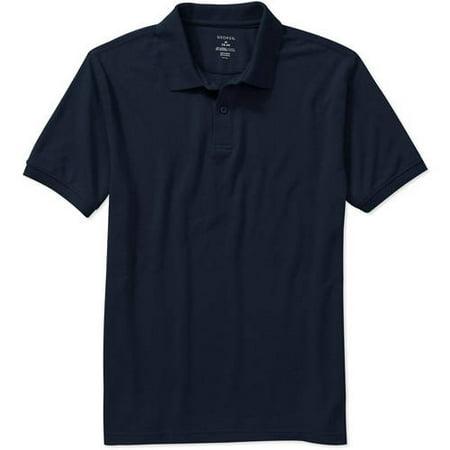 George Men S Short Sleeve Polo Walmart Com
