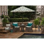 Pillow Perfect Outdoor/ Indoor Allodala Oasis Rectangular Throw Pillow (Set of 2)