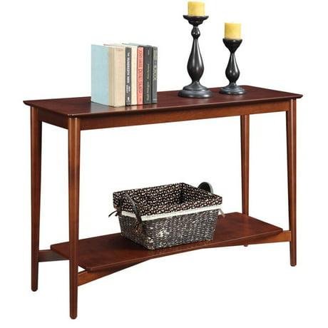 Convenience Concepts Savannah Console Table In Mahogany