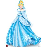 Advanced Graphics Cinderella Holiday - Disney Cardboard Standup