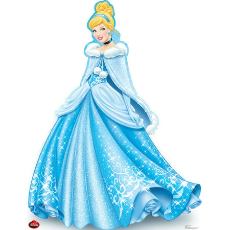 Advanced Graphics Cinderella Holiday - Disney Cardboard Standup (Cinderella In The Cardboard)