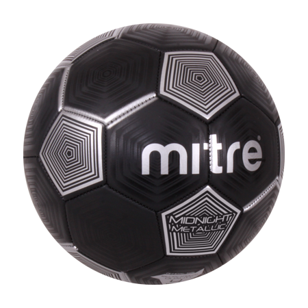 Mitre Metallic Size 4 Soccer Ball (Plush Soccer Ball)
