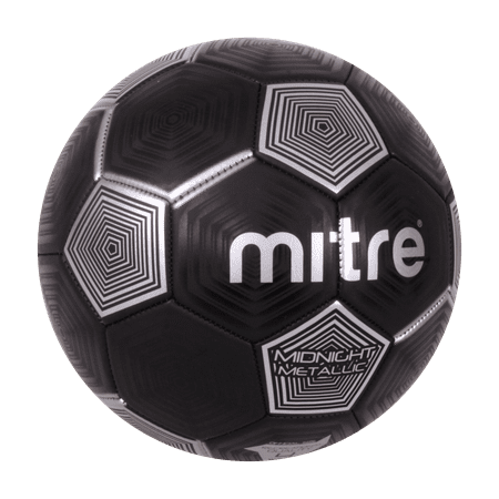 Mitre Soccer Ball, Size 4, Black and Silver](Soccer Ball Stress Ball)