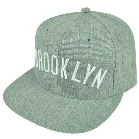 MLB Starter Negro League Brooklyn Royal Giants Snapback Flat Bill Hat Cap Gray