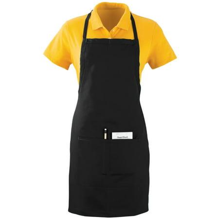 Augusta Oversized Waiter Apron W/Pckts Black Os - image 1 of 1