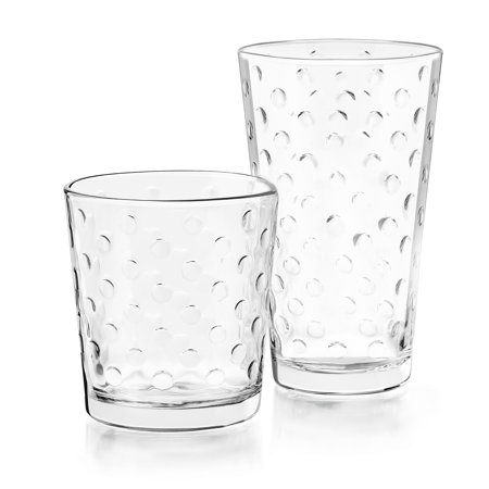 Libbey Awa 16-piece Glass Set - Nurd Glasses