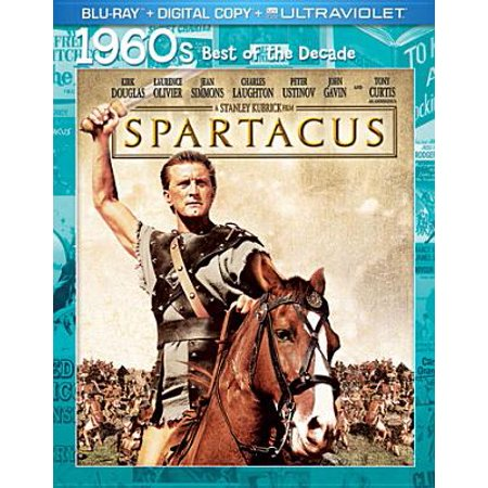 Spartacus (1960s Best Of The Decade) (Blu-ray + Digital Copy +