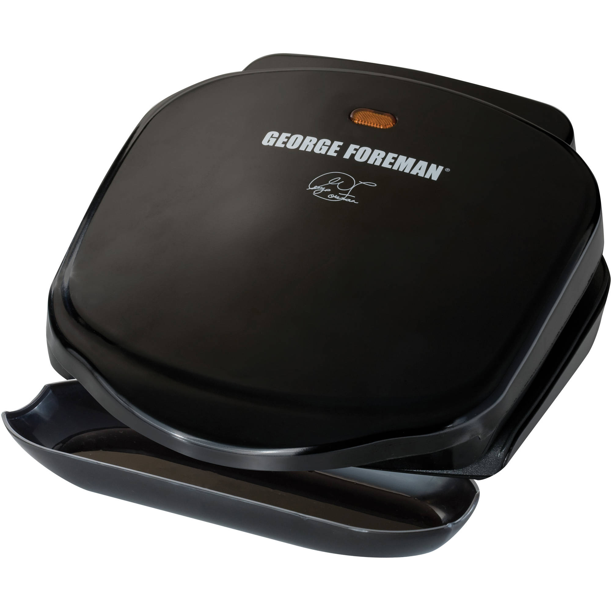 "George Foreman The Champ 36"" Grill, 2 Serving, GR10B"