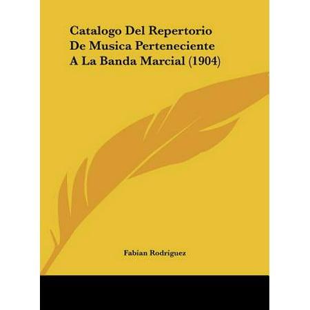 Catalogo del Repertorio de Musica Perteneciente a la Banda Marcial - Banda Halloween Musicas