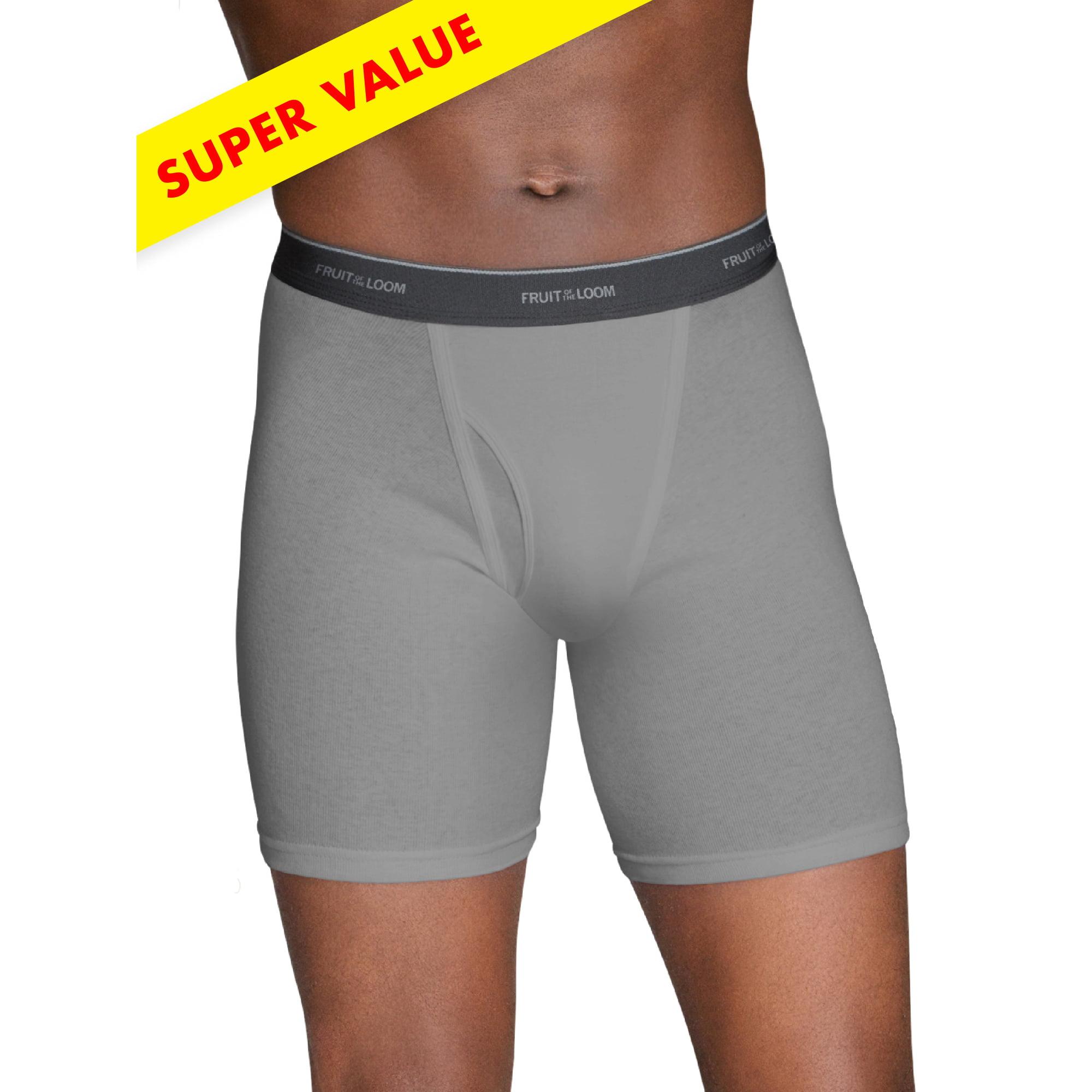 a9811d251c67 Buy Men's Super Value Black|Gray Boxer Briefs, 10 Pack | Cheapest ...