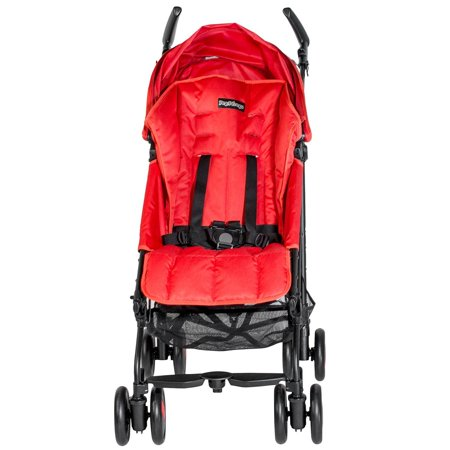 Peg Perego Pliko Mini Stroller(Geo Red) (Peg Perego Stroller Replacement)