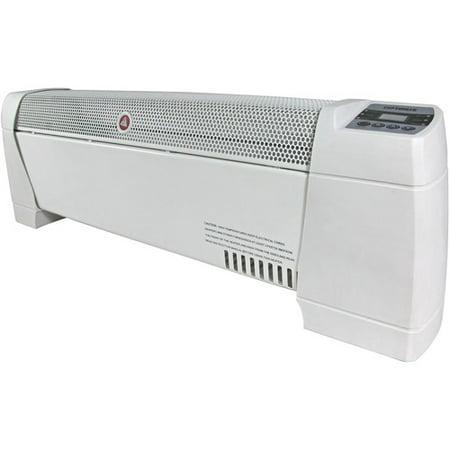 optimus electric 30 baseboard convection heater w digital. Black Bedroom Furniture Sets. Home Design Ideas