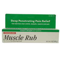 Muscle Rub Extra Strength Non-Greasy Pain Relieving Cream - 3 Oz
