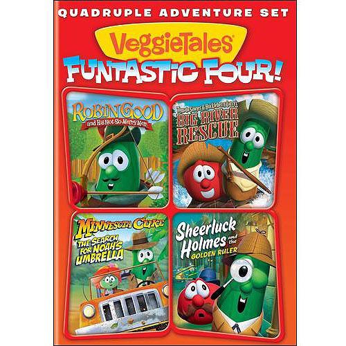 VeggieTales: Quadruple Adventure
