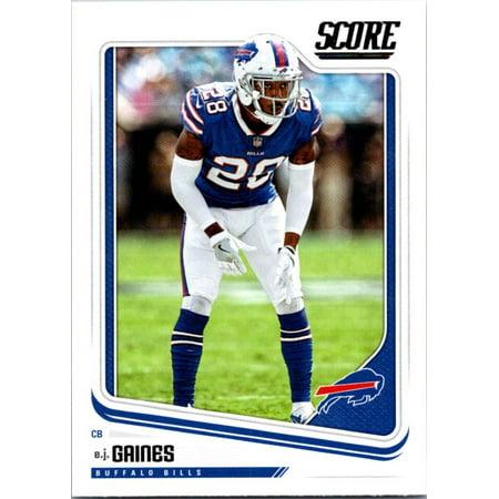(2018 Score #38 E.J. Gaines Buffalo Bills Football Card)