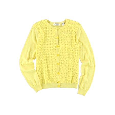 Greg Norman Womens Lace Golf Cardigan Sweater suns (Norman Women)