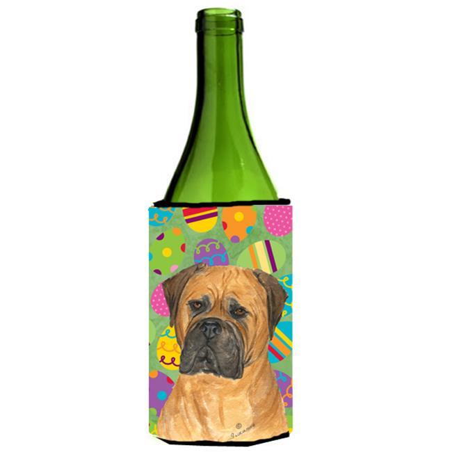 Bullmastiff Easter Eggtravaganza Wine bottle sleeve Hugger - 24 Oz. - image 1 de 1