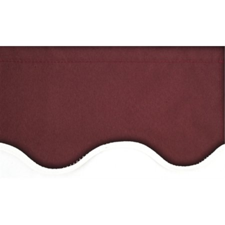 ALEKO® Retractable 10' X 8' Patio Awning Motorized 10ft x 8ft (3m x 2.5m) Burgundy Color - image 5 of 5