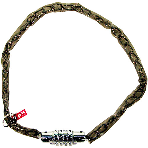 Ventura Combo Lock Chain, Smoke, 50 cm long